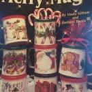 Merry coffee mugs Cross Stitch Pattern inserts by Leisure Arts 2357