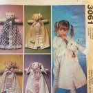 McCalls Crafts Pattern 3061 Blanket Buddies Michelle Hains