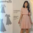 Simplicity 8047 Amazing Fit Collection Misses' Dress Size 6 - 14 Sewing Pattern