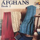 Leisure Arts Quick Crochet Afghans Book 2 4 designs Leaflet 687