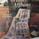 Leisure Arts 993 Unique Granny Afghans book 2 Crochet Pattern Afghans Anne Halliday