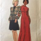 Butterick 3429 Misses' Evening Dress and Top Halter dress in two lengths Size 10