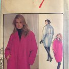Style 1934 Misses Lined Coat 1990's Sewing Pattern size 8 - 20
