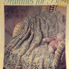 Grannies for Baby book 2 Afghans Leisure Arts Crochet Pattern 2639