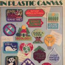 Leisure Arts 1504 Ecology Magnets in Plastic Canvas Pattern