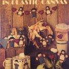 Leisure Arts 1154 Simple Folk in Plastic Canvas Pattern