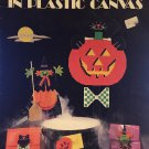 Leisure Arts 1118 Halloween Decorations In Plastic Canvas Pattern