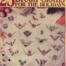 Leisure Arts 2901 25 Bread Cloths for the Holidays Cross Stitch Pattern by Deborah Lambein