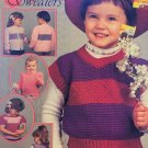 Crochet Sweetheart Sweaters for children Shady Lane Crochet Pattern Toddler sizes 2,3, 4