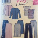 New Look 6150  Easy 2 Hour Jacket, top, skirt, pants sewing pattern size 8-18