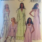 Butterick B5963 Misses' Robe, Top, Gown, Pants and Bag Sewing Pattern - Size 14 - 22