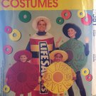 McCall's P382 9560 Life Savers Candy Costume Adult size Small Medium Large