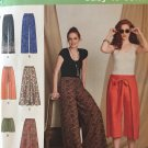 Simplicity 8134 Misses Front Wrap Pants Shorts & Wide-Legged Pants Sewing pattern Sz 6-8-10-12-14