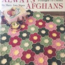 Always Afghans Vintage Afghan Crochet Pattern Booklet from Leisure Art #584 by Mary Ann Sipes