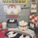 Annie's Attic Cock-a-Doodle Kitchen Rooster Accessories plastic canvas pattern 87P26