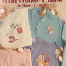 Leisure Arts 673 Wild Goose Chase Cross Stitch in Waste Canvas by Regina Ford