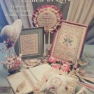 UNITED IN LOVE Leisure Arts Cross Stitch Pattern 304 Marriage Samplers