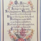 Lord's Prayer Cross stitch Pattern Cross My Heart Inc. CSL-53