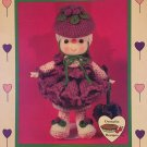 Raspberry Fluff Doll from Dumplin Designs Lollipop Lane Crochet Pattern CDC410