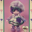 Grape Jelly Doll from Dumplin Designs Lollipop Lane Crochet Pattern CDC403