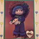Blueberry Cupcake Doll from Dumplin Designs Lollipop Lane Crochet Pattern CDC411
