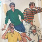 Butterick 4234 Sewing Pattern from 1980's. Men's Knit T-Shirt. Chest 40