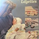 Baby Layettes American School of Needlework Knit Crochet Pattern Baby Bonnet Gifts Baby Blanket 1165