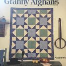 Leisure Arts 2032 Crocheted Patchwork Granny Afghans Crochet Pattern Lissa Ammann
