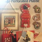 Beginner's Guide To Perforated Plastic Cross Stitch Pattern American School of Needlework 3622