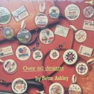 Cross Stitch TAGS, TAGS, TAGS for people, keys and luggage American School of Needlework 3626