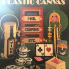 Creative Projects for Plastic Canvas Leisure Arts 213 tissue holder, tea set and more