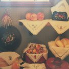 Bread Covers IV Cross Stitch Pattern by Harriette Tew 8 Designs