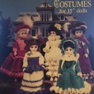 "Crocheted Victorian Doll Costumes for 15"" Dolls American School of Needlework 1099"