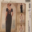 McCalls 9229 Sewing Pattern Mother of the Bride Bridesmaid Evening Elegance Size 6 8 10 UNCUT