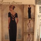 McCalls 9229 Sewing Pattern Mother of the Bride Bridesmaid Evening Elegance Size 8 10 12 UNCUT