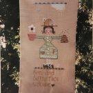Fanci That Folk Art Garden Lady  Sampler Cross Stitch Chart 69