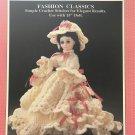 "Fibre Craft 15"" Doll Gown Constance FCM 174 Crochet Pattern"