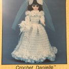 Crochet gown 15 inch Doll Danielle TD Creations Collectable Doll Series PRE-753  Bride Doll Gown