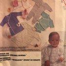 McCalls 2569 Babies Layette Gown Kimono Pajamas Size Newborn Small Uncut Sewing Pattern