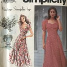 Sewing Pattern Simplicity 7803 Misses Princess Seams Vintage Style Dress Size 6 8 10 Bust 30 -33