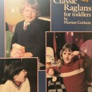 Leisure Arts Knitting Pattern Book 155 Classic Raglans for Toddlers by Marion Graham