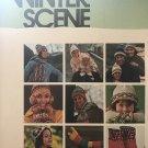 Knitting Crochet Pattern Hats Toe Socks Winter Scene Accessories Bucilla Fleischer Bear Brand