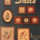 Cross Stitch pattern SAILS Saliboat Schooners Boats Tidewater Originals