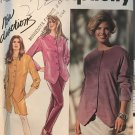 Simplicity 7445 Misses Pull-on Pants Shorts Pullover Top Skirt Sewing Pattern Size 10-18