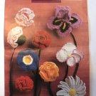 Crocheted Flower and Flower Dolly Patterns Annie's Attic 88031 Thread Crochet