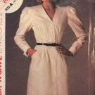 Stitch 'n Save By Mccalls 8945 Misses' Button Front Dress Uncut Sewing Pattern size 6 8 10