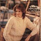 Knitting Pattern Susan Bates #17670, Aran Knitting for the Family