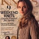 Interweave Knits Magazine Spring 2018 6 projects for him, 9 weekend knits and more