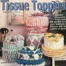 Crochet Pattern Floral Ruffle Tissue Toppers House of White Birches 101167