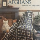 Lacy Granny Afghans in planned and scrap colors Leisure Arts Crochet Pattern 480